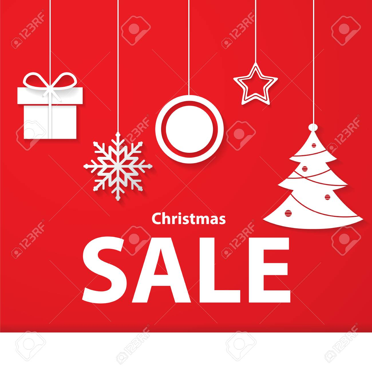 Christmas Gift; Christmas Promotion Sale Stock Photo, Picture And ...