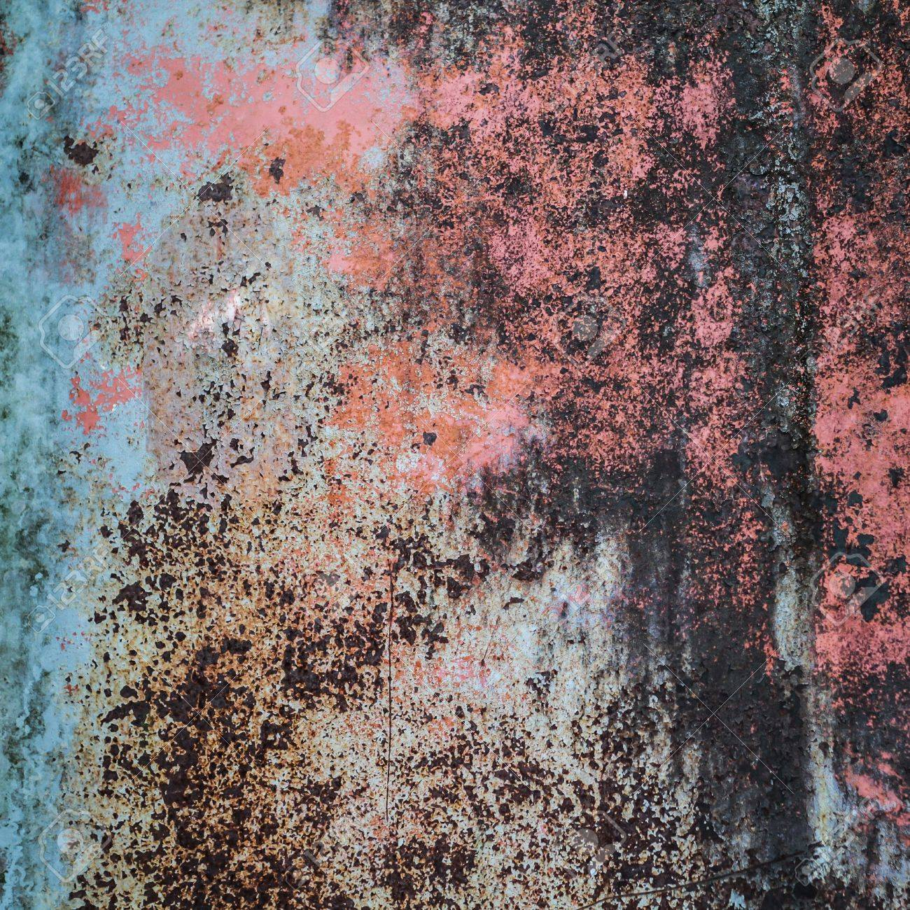 The abstract rusty metal background Stock Photo - 15988747