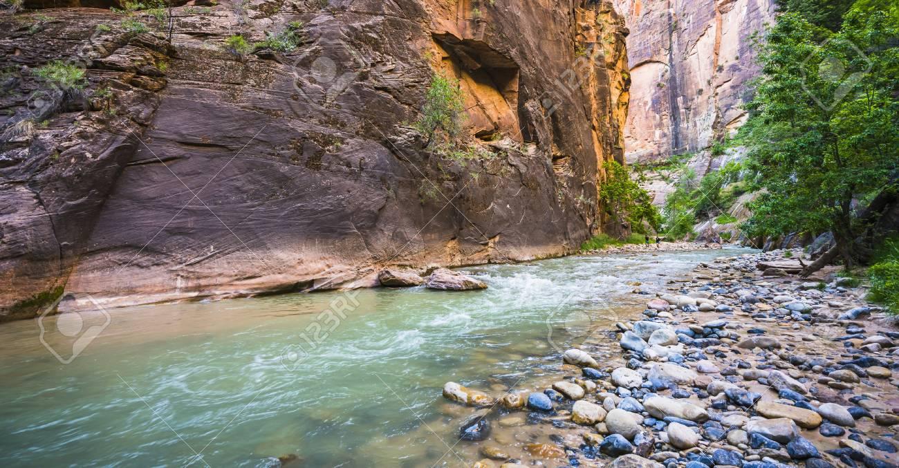 Zion ザイオン国立公園、ユタ州...