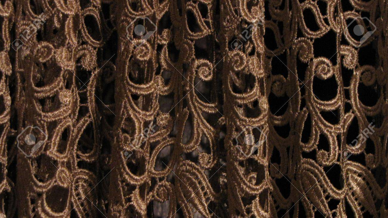 Gold Lace Curtain Patterns Stock Photo Picture And Royalty Free Image Image 5528162