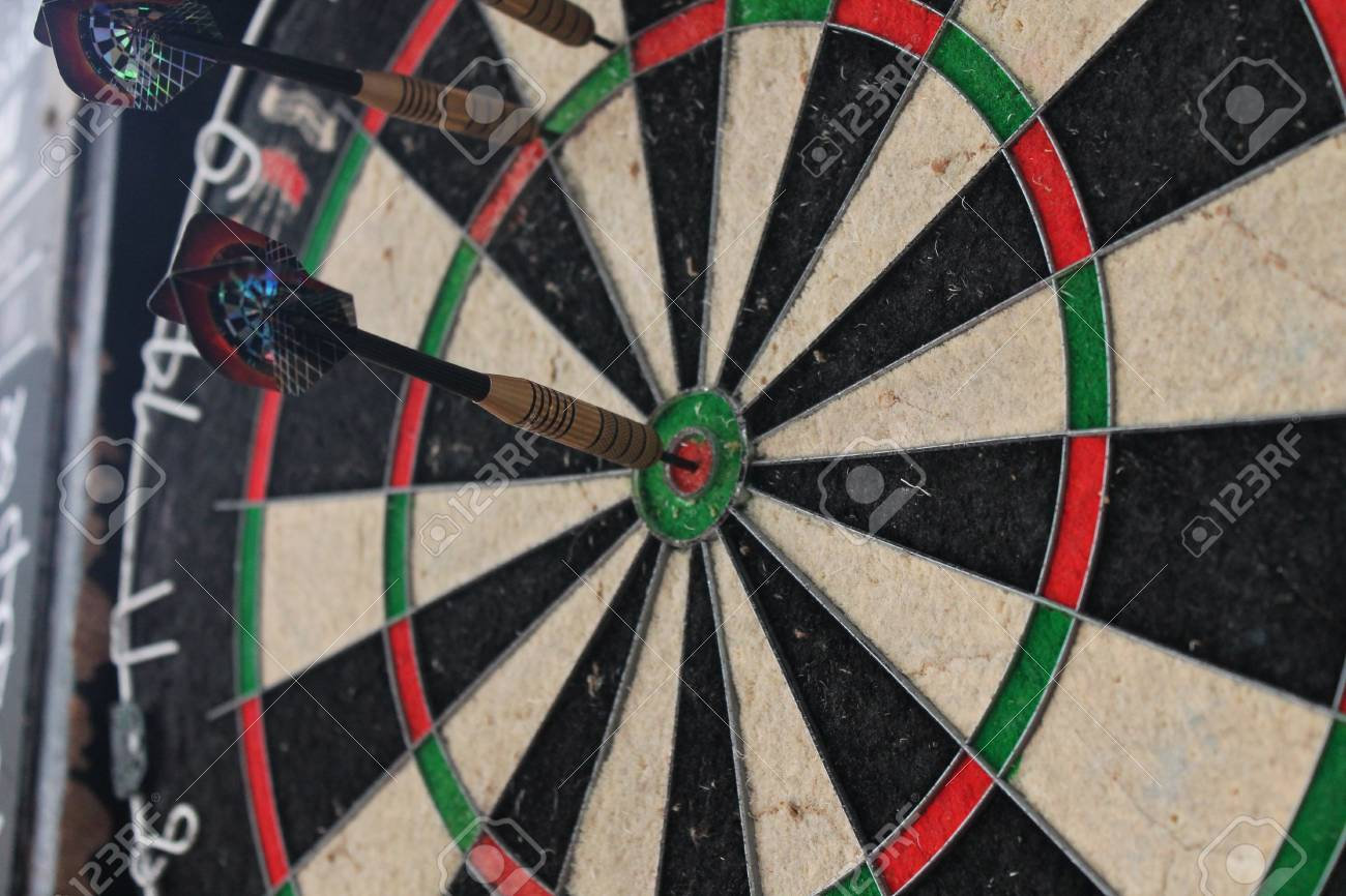 Darts Game At Pub Stock Photo Picture And Royalty Free Image Image