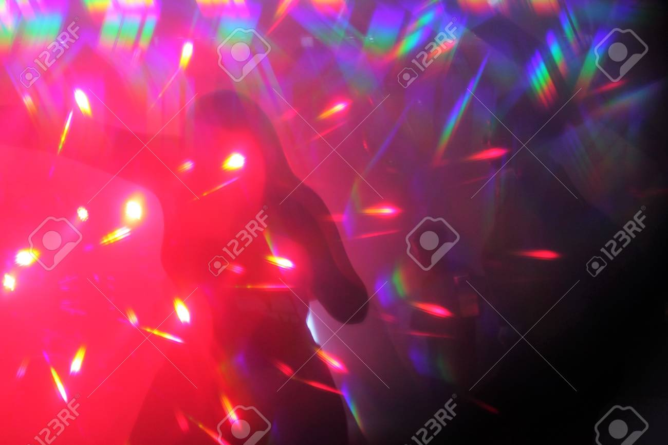 Dance Party Background Lights