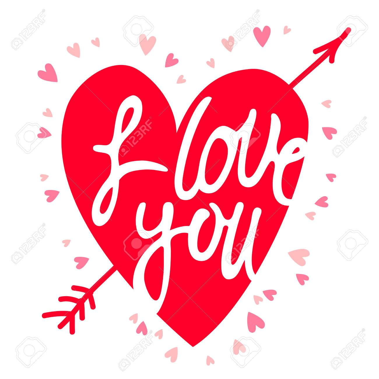 Download Wallpaper Name Divya - 49319919-red-heart-with-the-inscription-i-love-you-vector-illustration-on-a-white-background-  You Should Have_55662.jpg