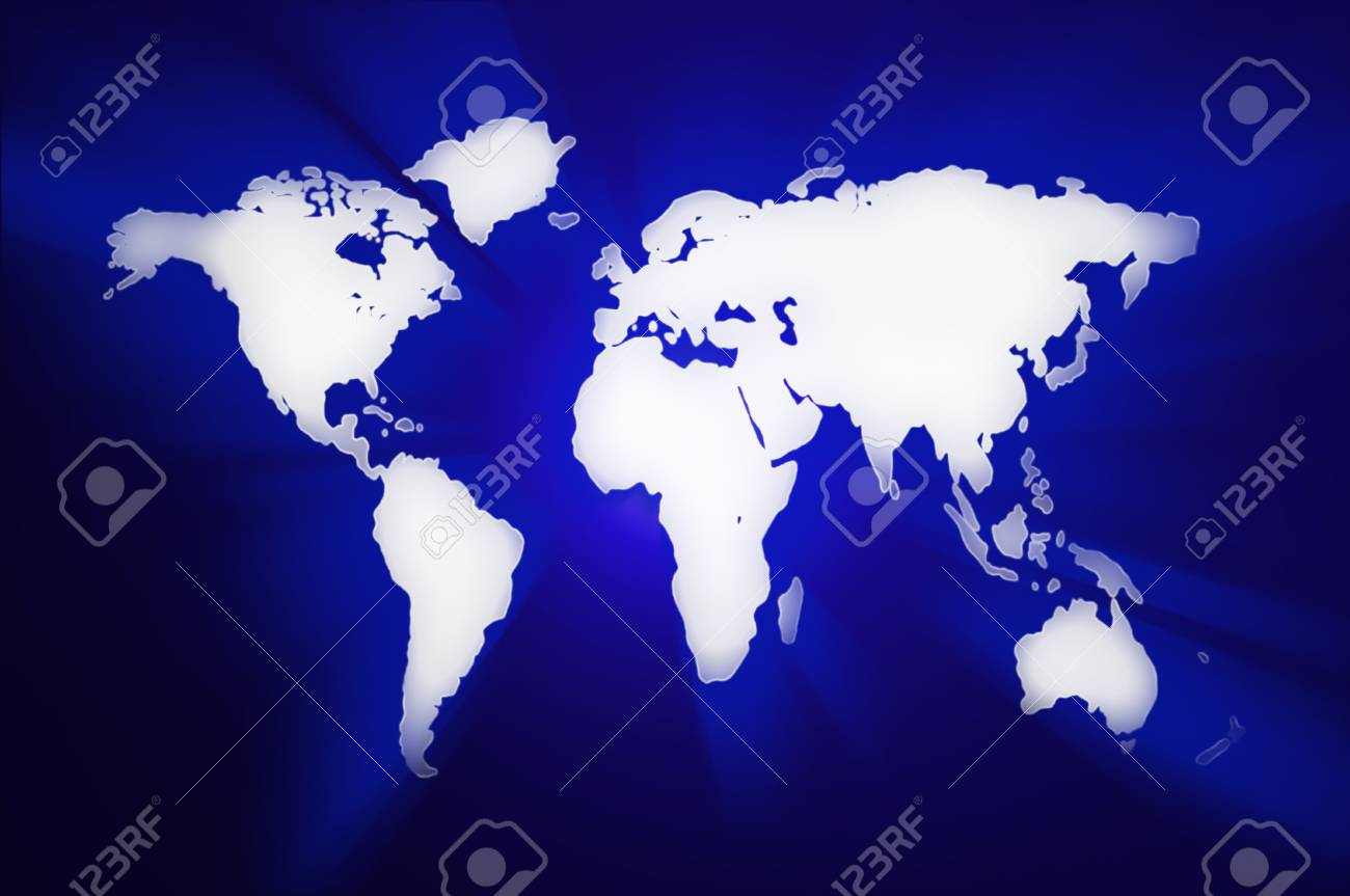 Colored illustration detailed world map abstract silhouette stock colored illustration detailed world map abstract silhouette maps of the world stock illustration 35486995 gumiabroncs Images