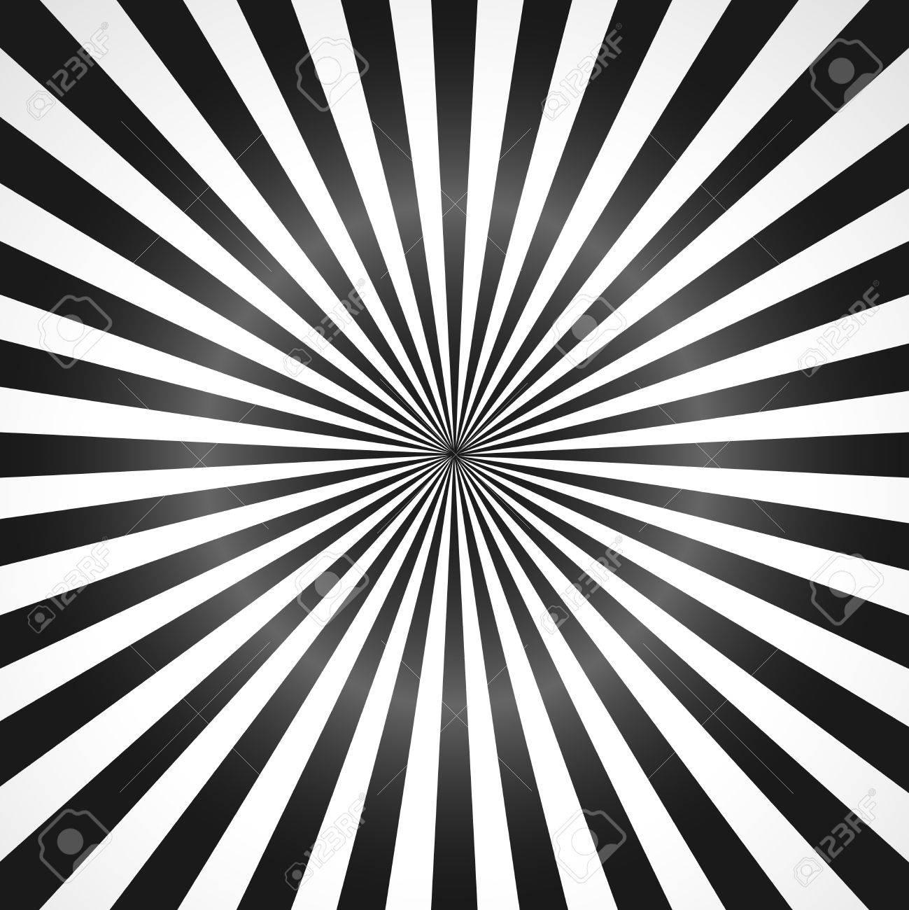 黒い太陽光線のイラスト。暗い白黒の太陽光線 - ベクトルの図 ...