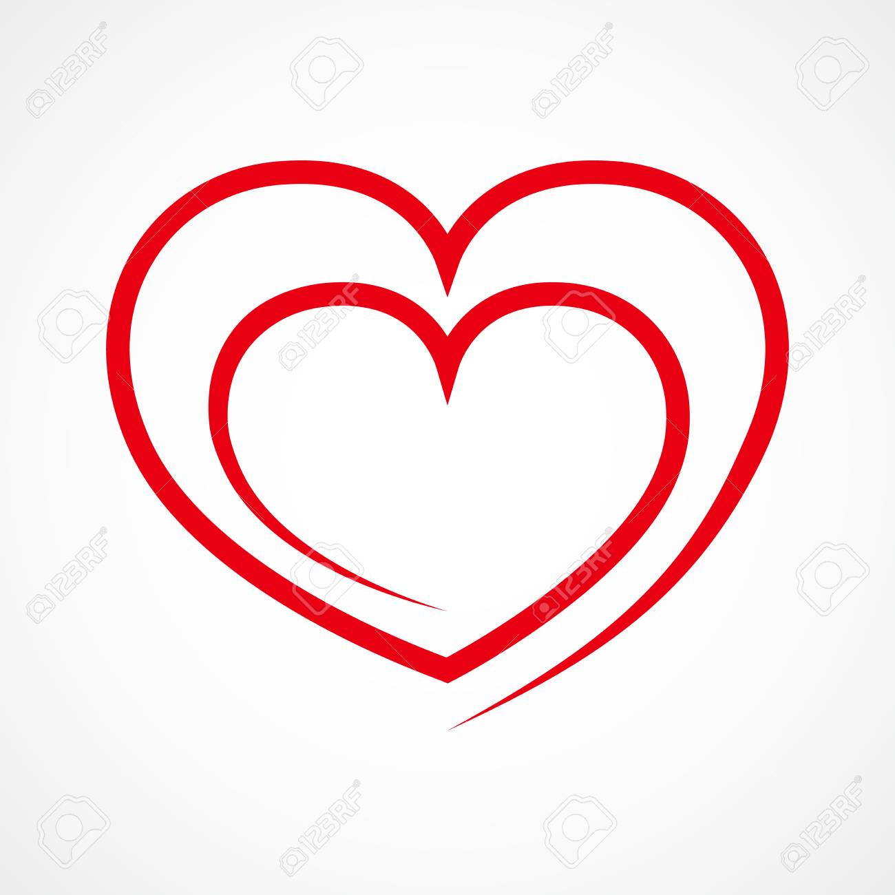 Red Heart Outline Png & Free Red Heart Outline.png Transparent Images  #67147 - PNGio