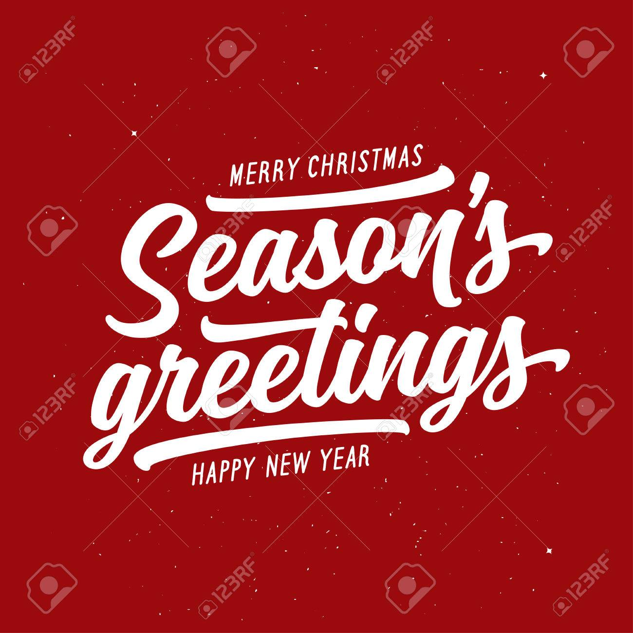 Season greetings typography composition decorative design element season greetings typography composition decorative design element for postcards prints posters vector kristyandbryce Choice Image