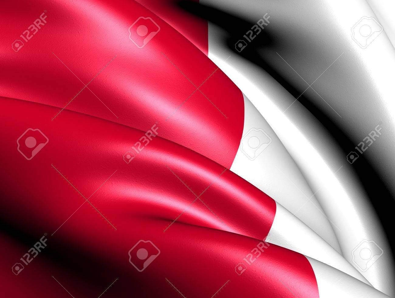 Flag of Utrecht, Netherlands. Close Up. Stock Photo - 12437591