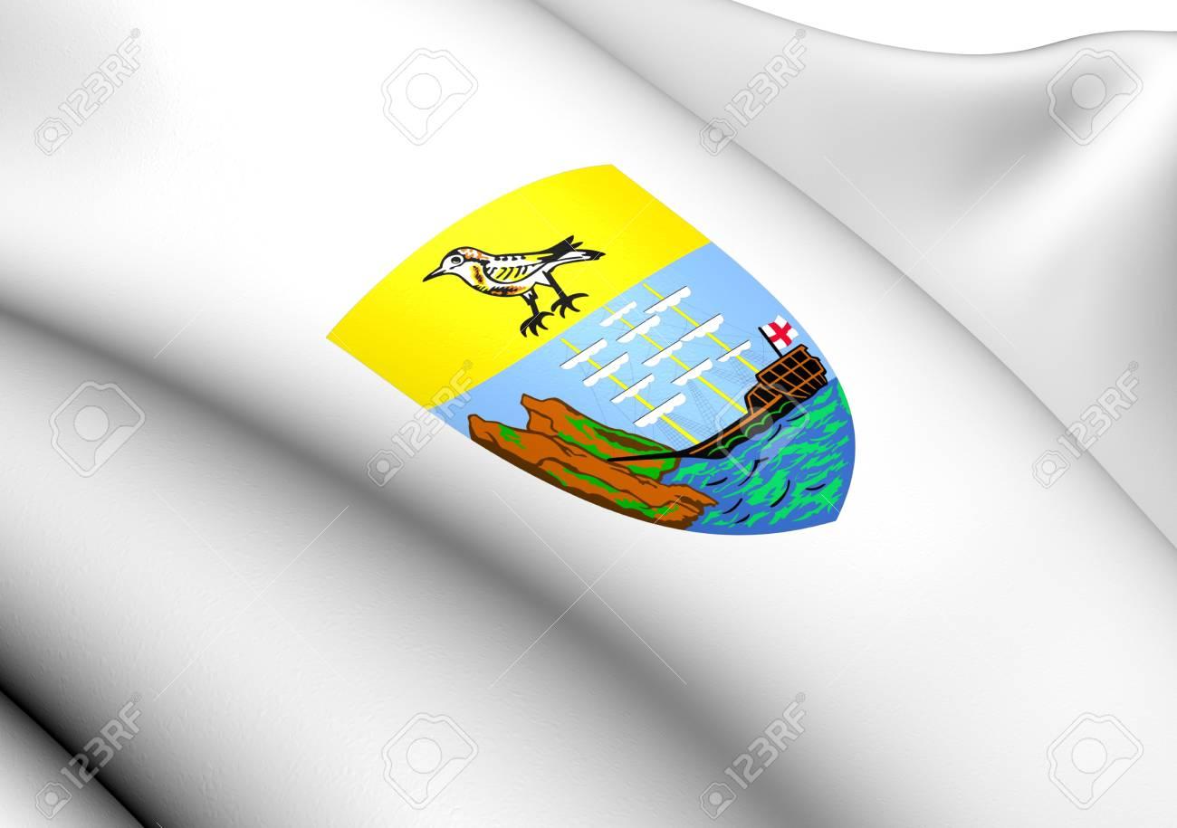 Saint Helena Coat of Arms. Close Up. Stock Photo - 13585134