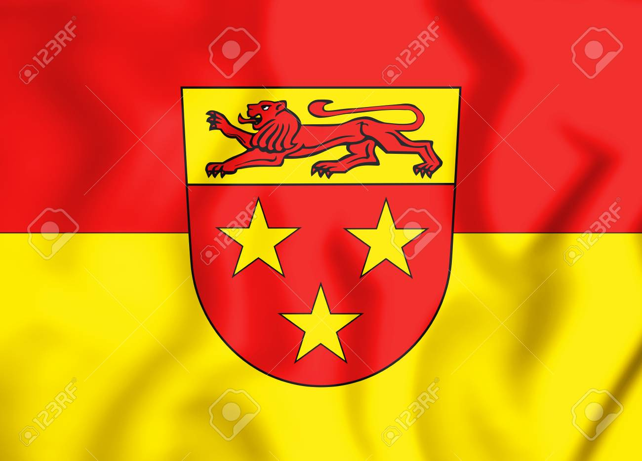 3d Flag Of Donzdorf Baden Wurttemberg Germany 3d Illustration Stock Photo Picture And Royalty Free Image Image 87252548