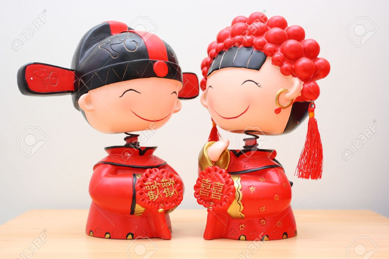 The Traditional Chinese Wedding Decorations Stock Photo   10260082