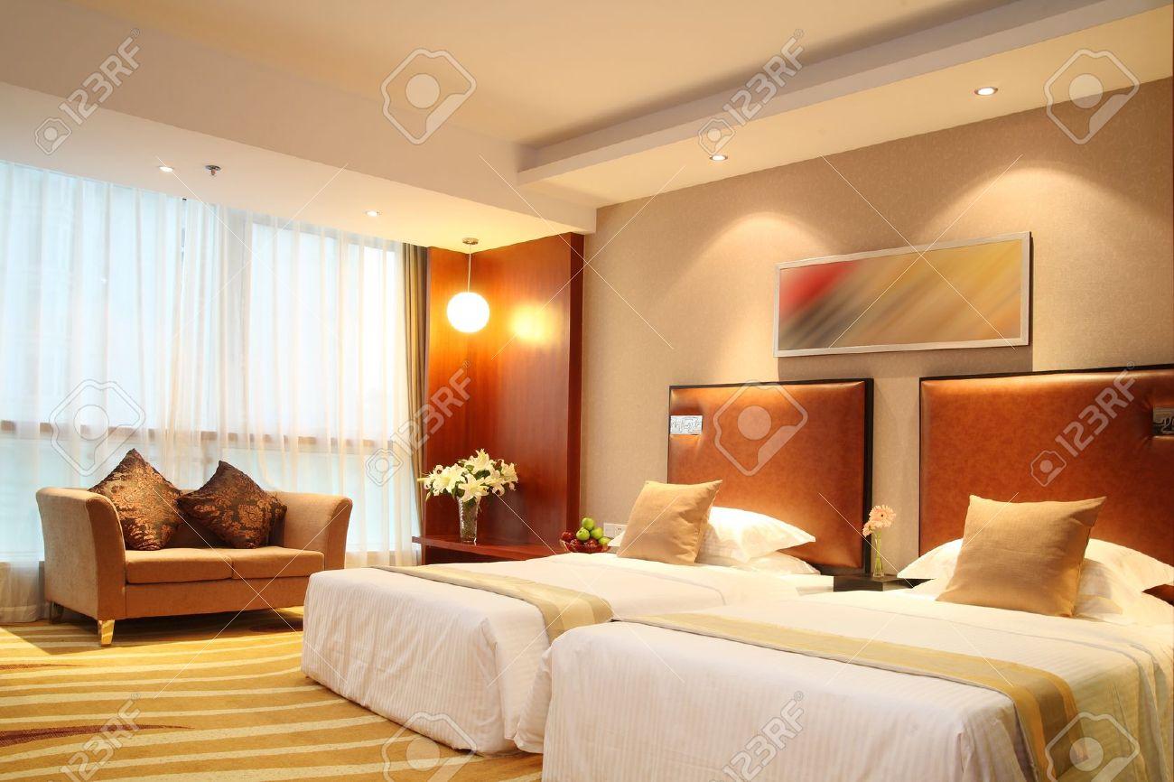 Hotel room photos, standard room, decorative design Stock Photo - 10260093