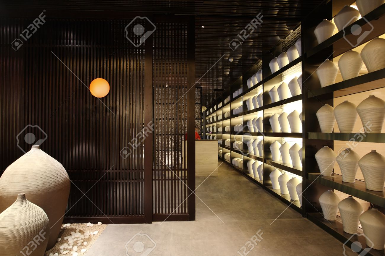Japanese Restaurant Interior Photographs Unique Style Decorative Design
