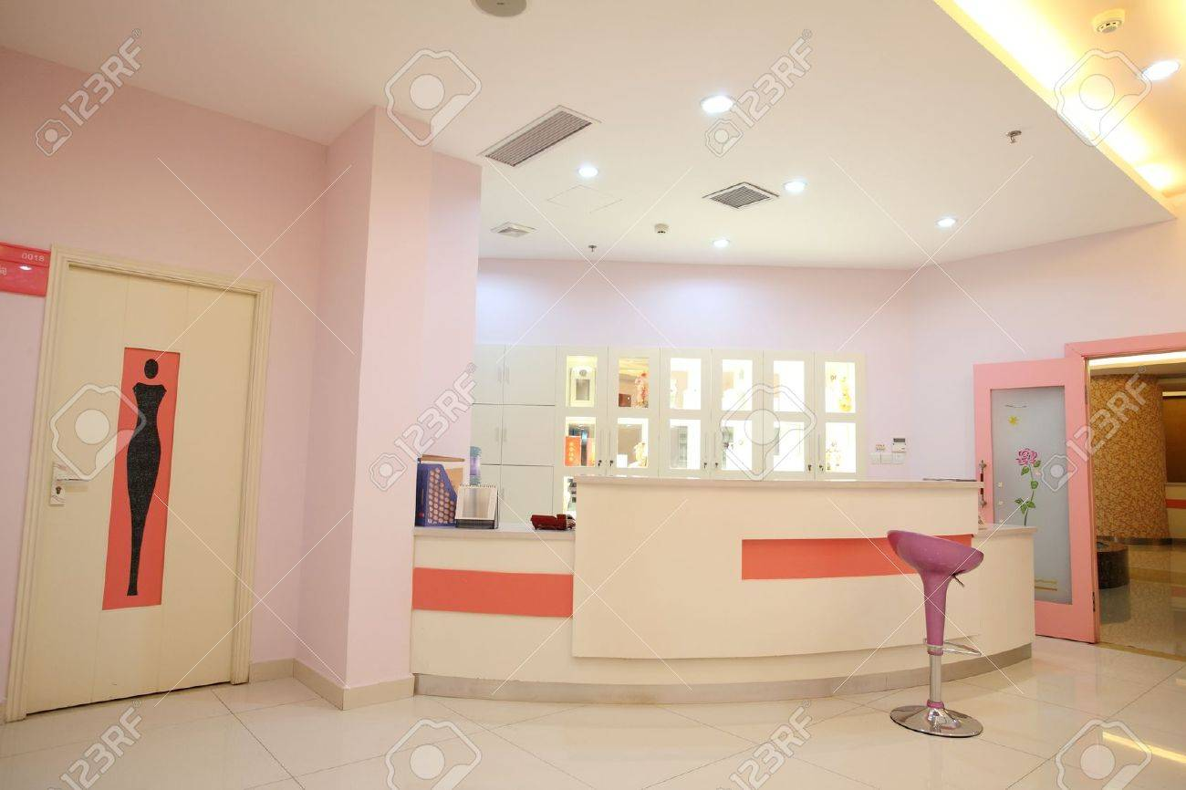 Indoor reception area,within hospitals Stock Photo - 10282543