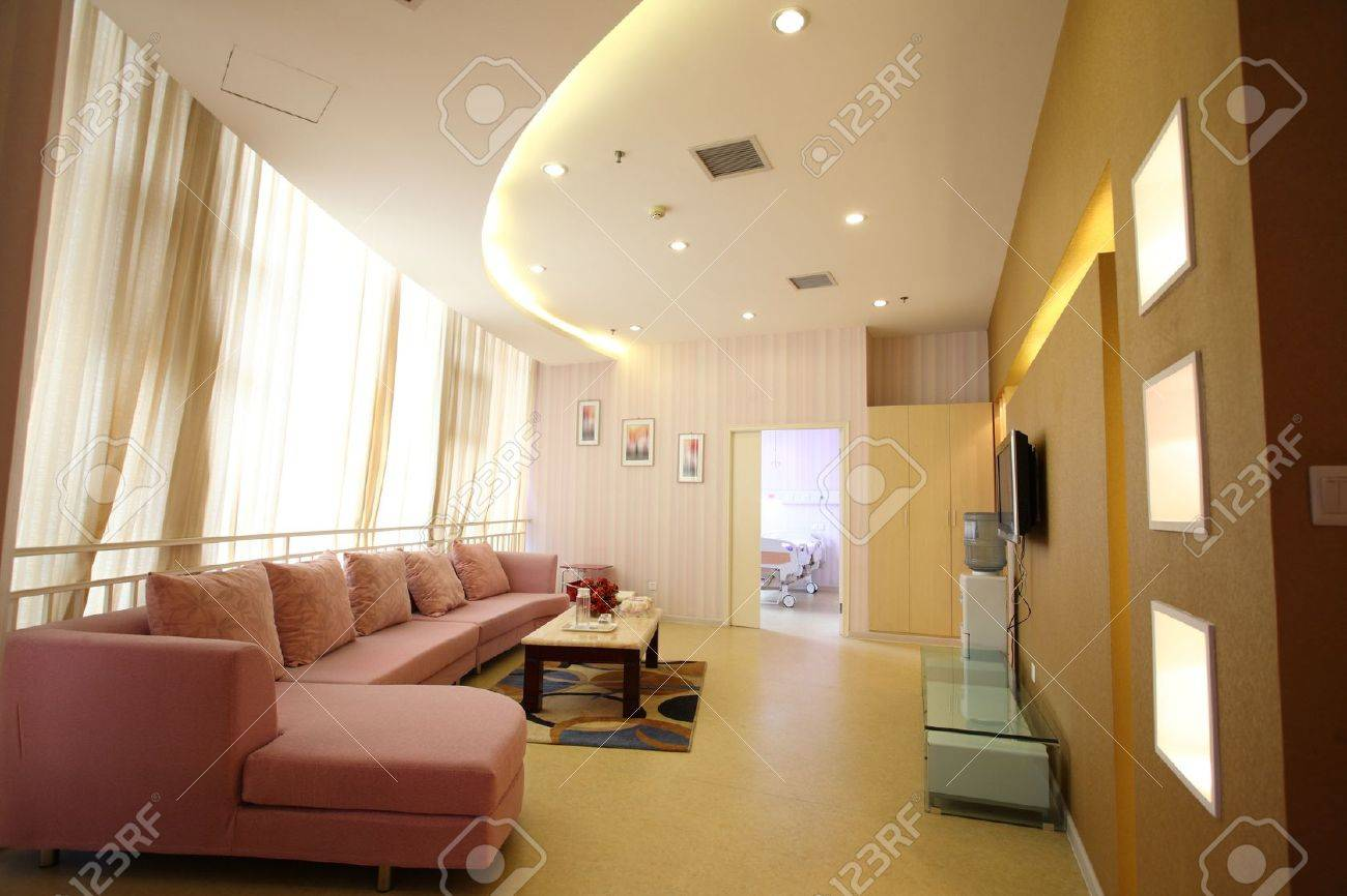 Warm and bright indoor hall Stock Photo - 10306076