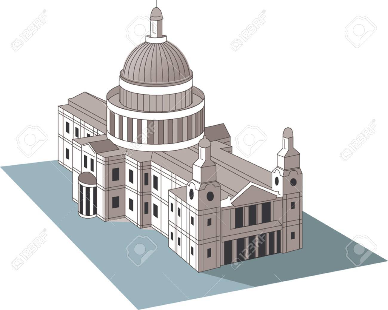 State Capitol Stock Vector - 22061216