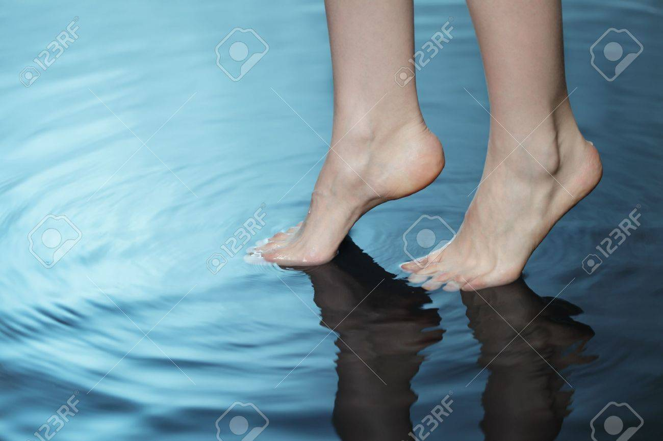 foot in water Stock Photo - 9929261