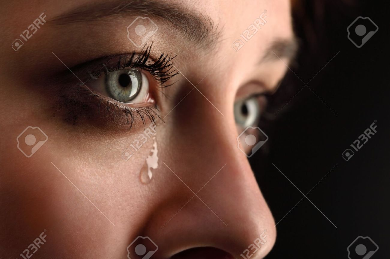 beauty girl cry Stock Photo - 12744816