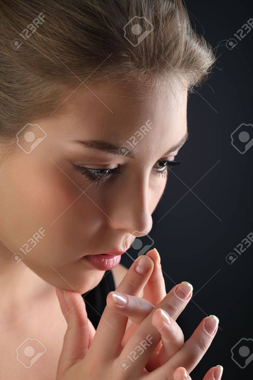 beauty girl cry Stock Photo - 14566175