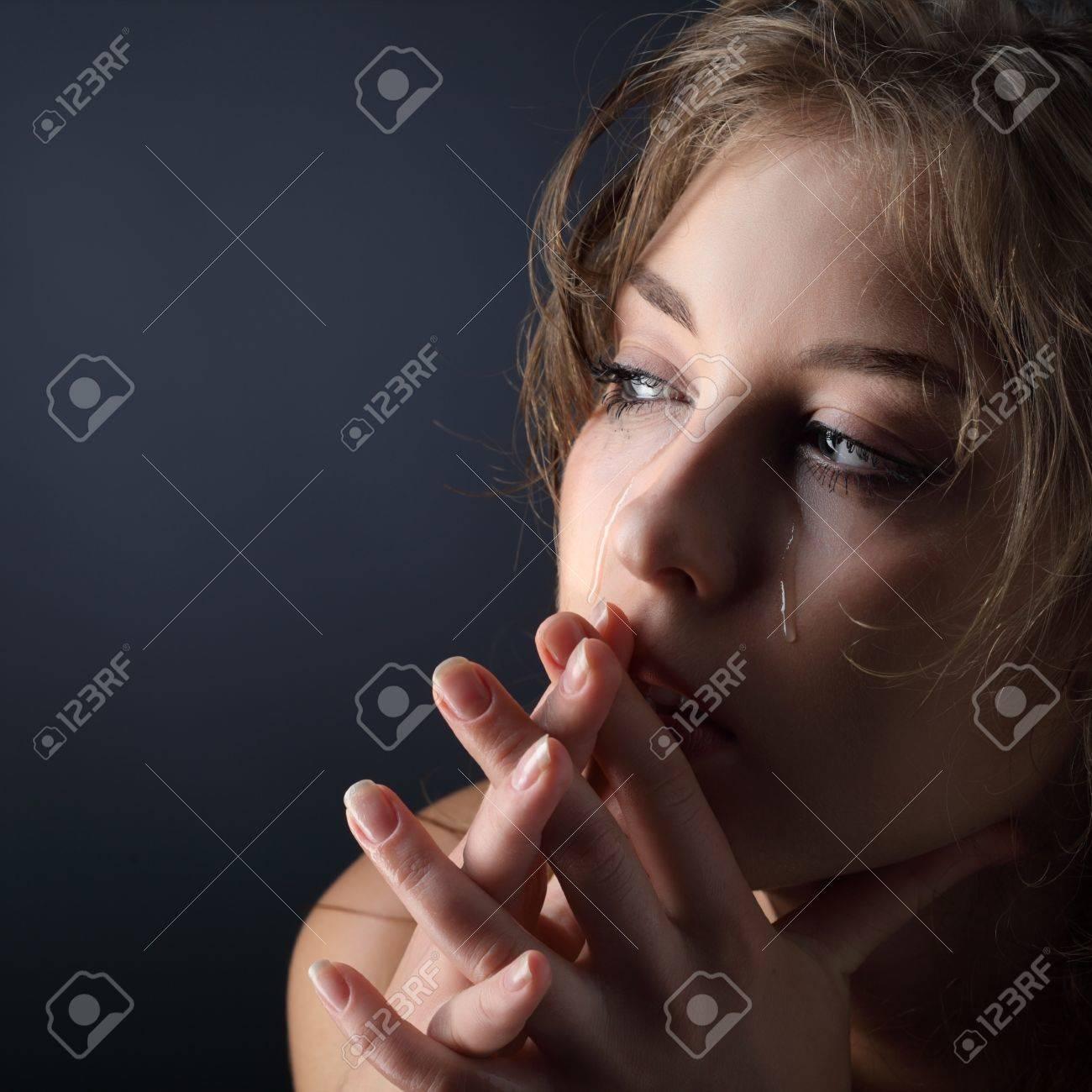 beauty girl cry Stock Photo - 15199812