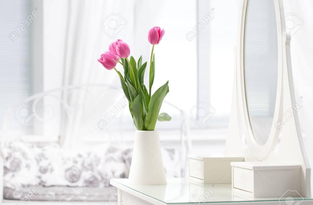 tulip in room Stock Photo - 24470728