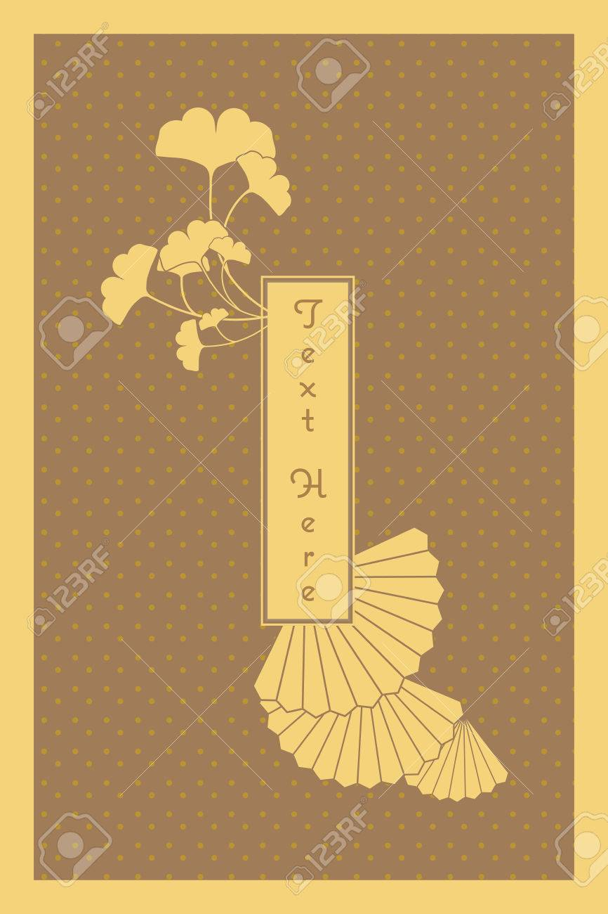 Vintage elegant golden japanese and chinese invitation card template vector vintage elegant golden japanese and chinese invitation card template stopboris