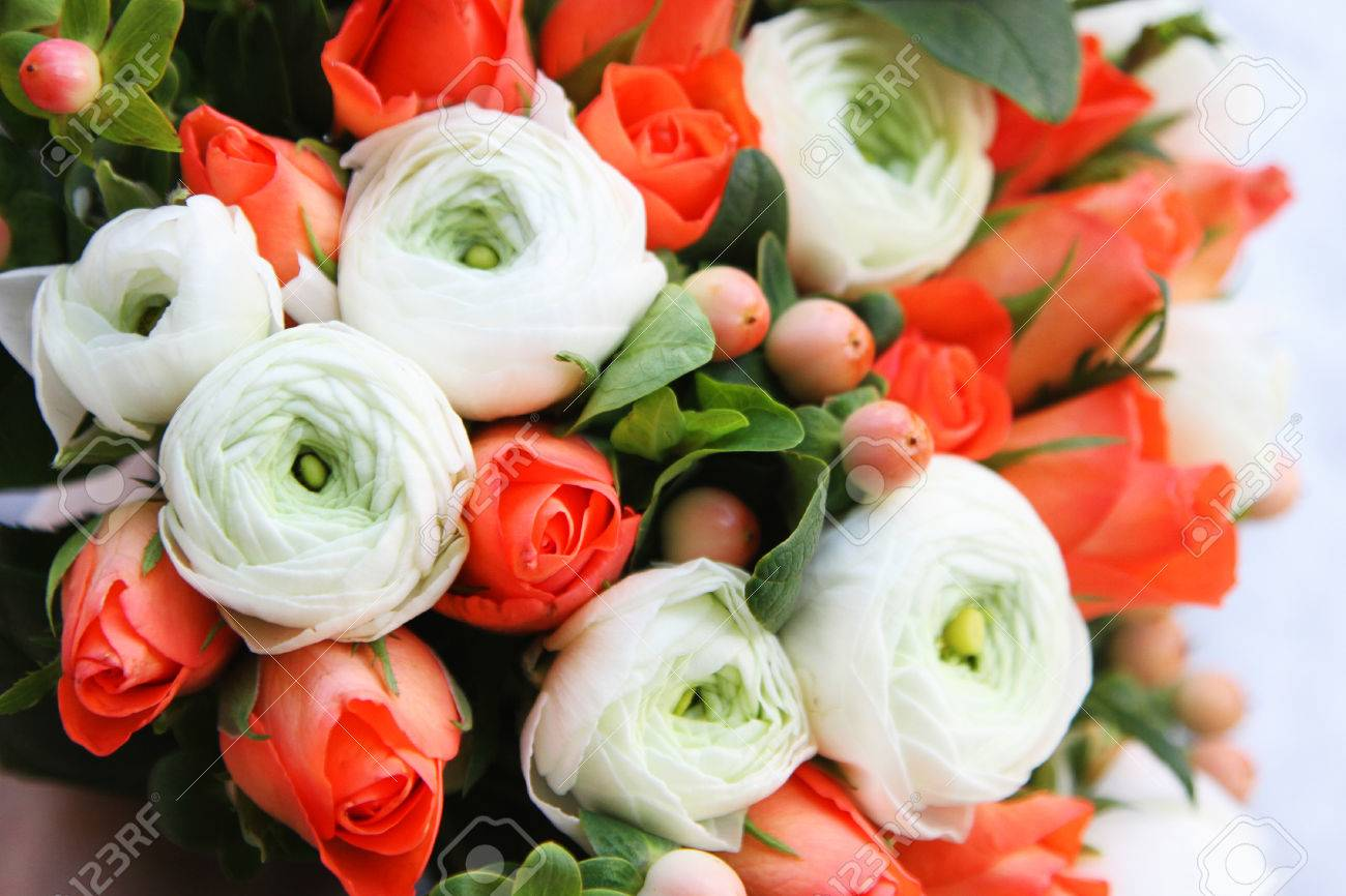 Winter Flower Bouquet Stock Photo, Picture And Royalty Free Image ...
