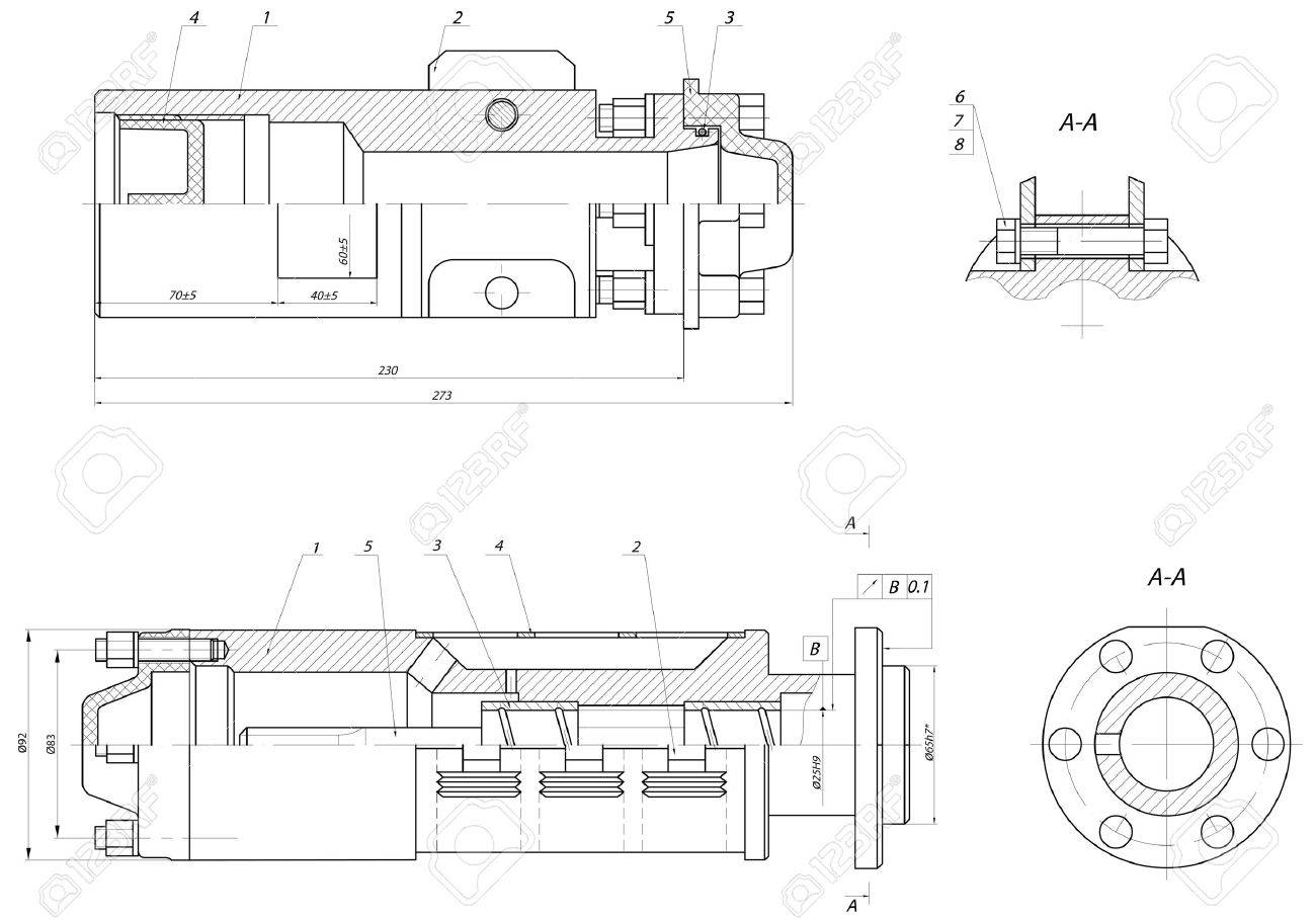 Sketch the input section of the submersible centrifugal pump the input section of the submersible centrifugal pump stock vector 15355815 ccuart Image collections