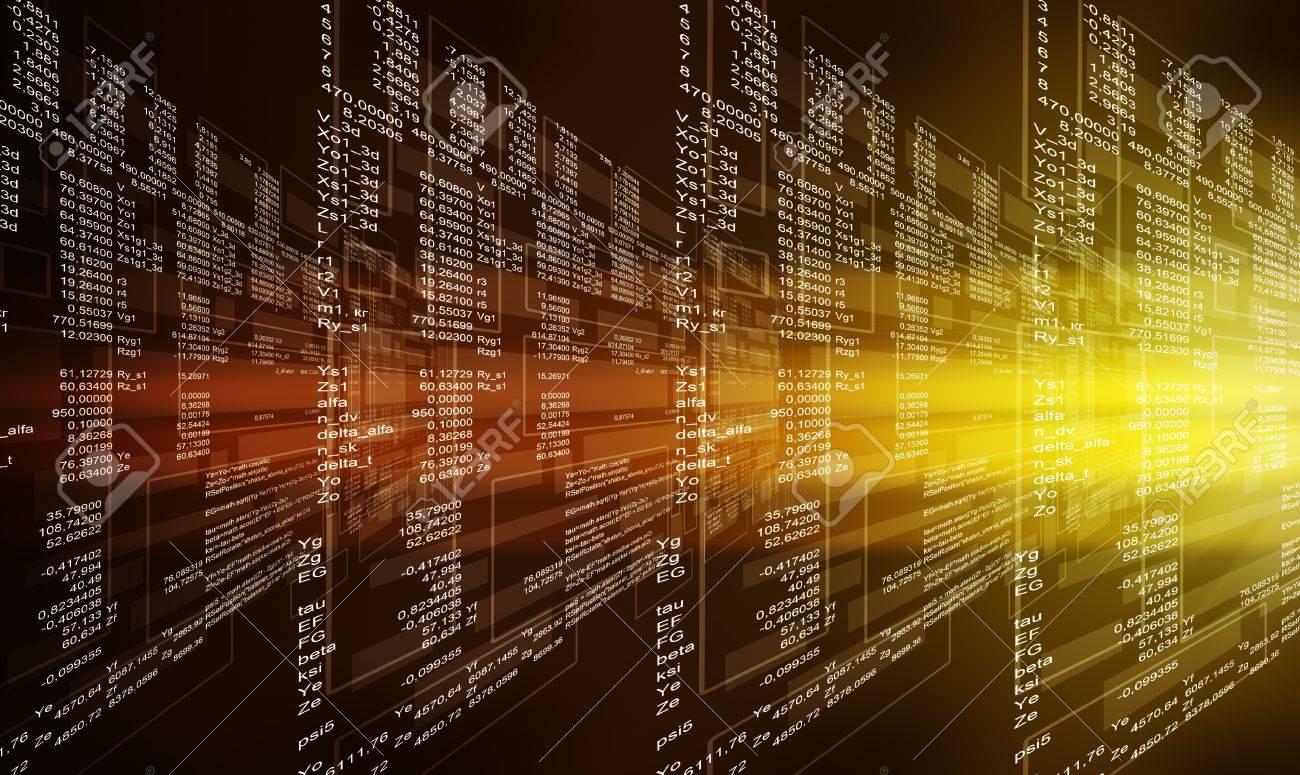 digital abstract bits data stream cyber pattern digital background
