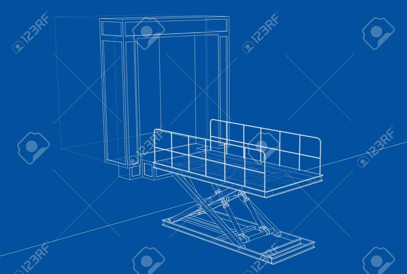 dock leveler concept stock photo, picture and royalty free imagedock leveler  concept stock photo 112920499