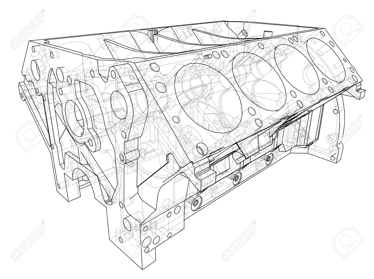 Engine block sketch. Vector rendering of 3d. Wire-frame style... on schematic wiring diagram, circuit diagram, computer schematic diagram, sony schematic diagram, schematic symbols, schematic drawing, schematic server girl, schematic software, dell xps schematic diagram, iphone 4 schematic diagram, hp pavilion dv7 parts diagram, schematic diagram of a hospital, simple schematic diagram, schematic circle diagram, schematic wheel diagram, power supply schematic diagram, tesla coil schematic diagram, schematic layout, schematic heaven,