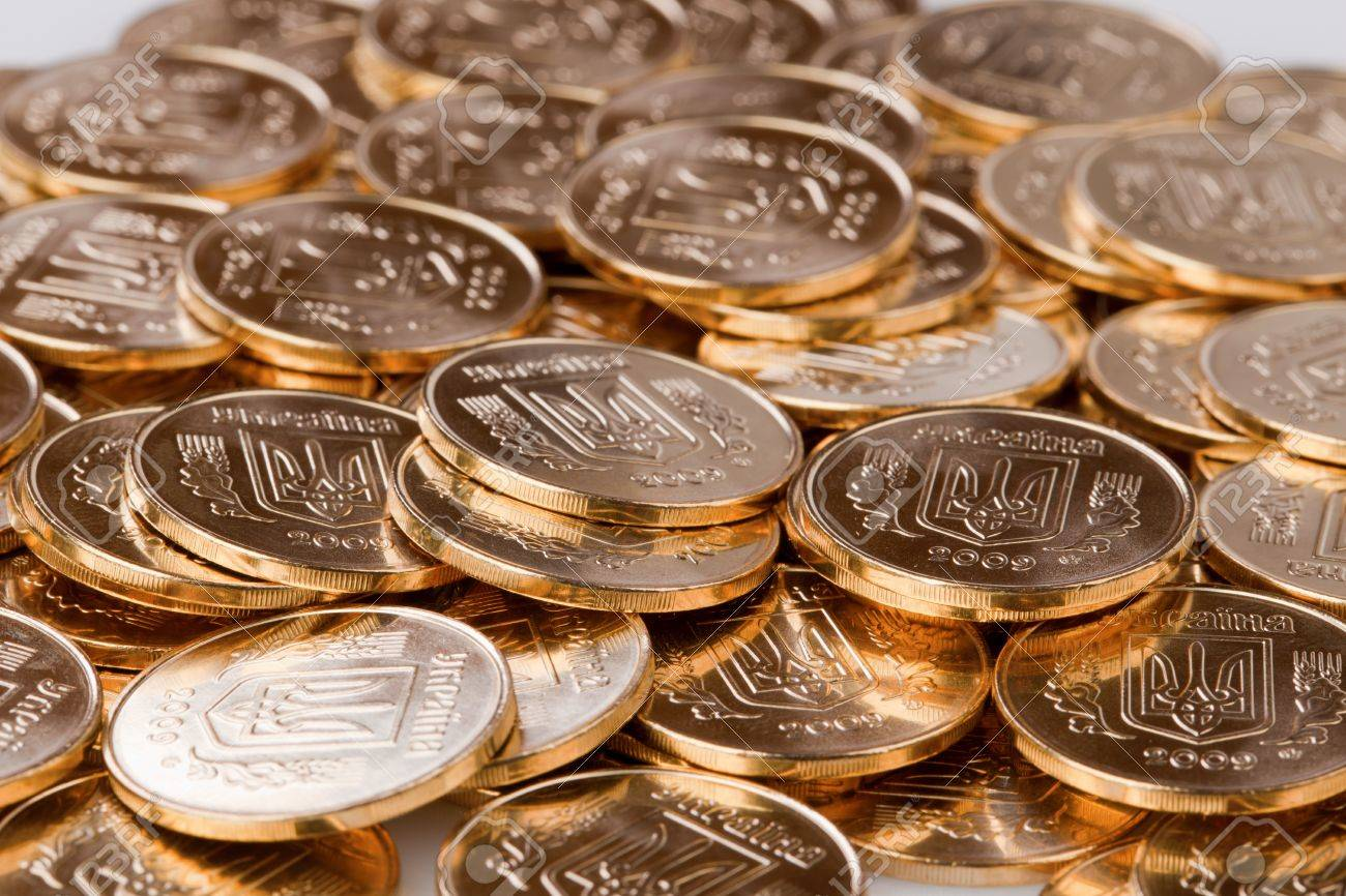Many Gold Coins. Loose Change. Stock Photo, Picture And Royalty ...