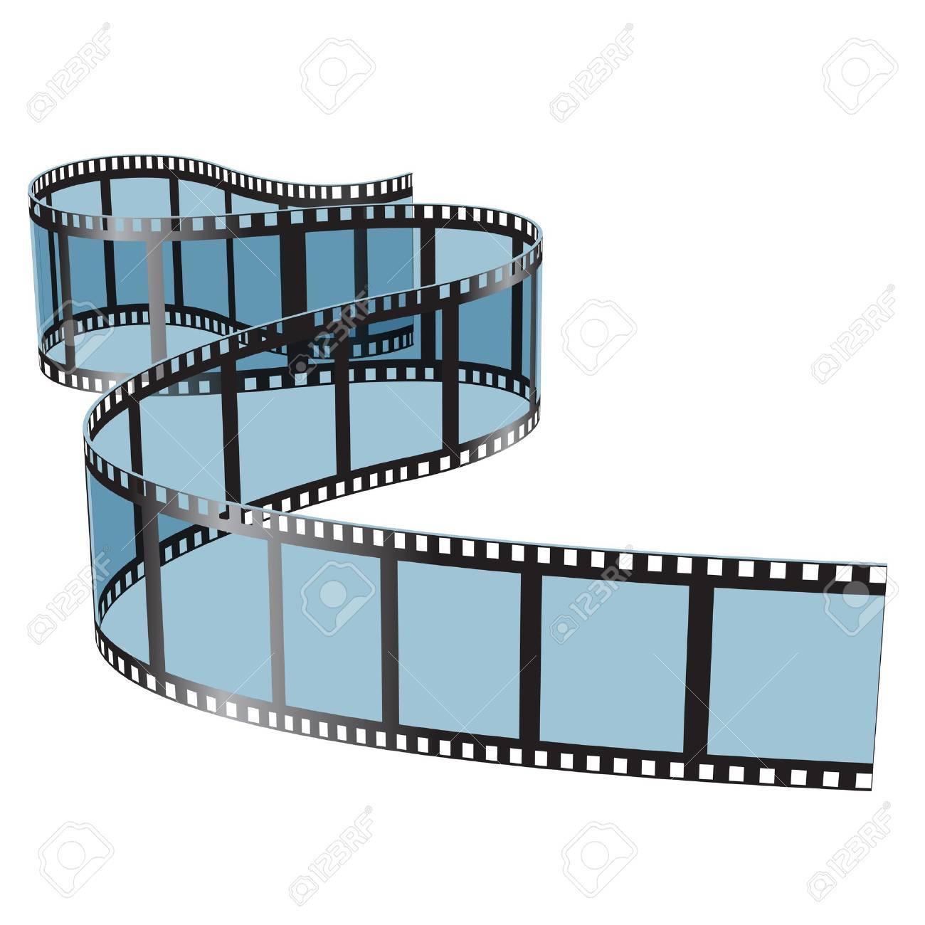 Illustration film on white background Standard-Bild - 20682926