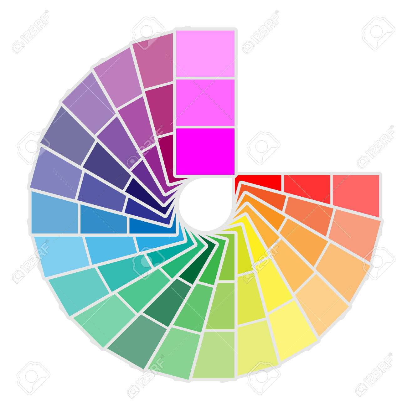 Color palette icon isolated on white background. Vector illustration - 67164065