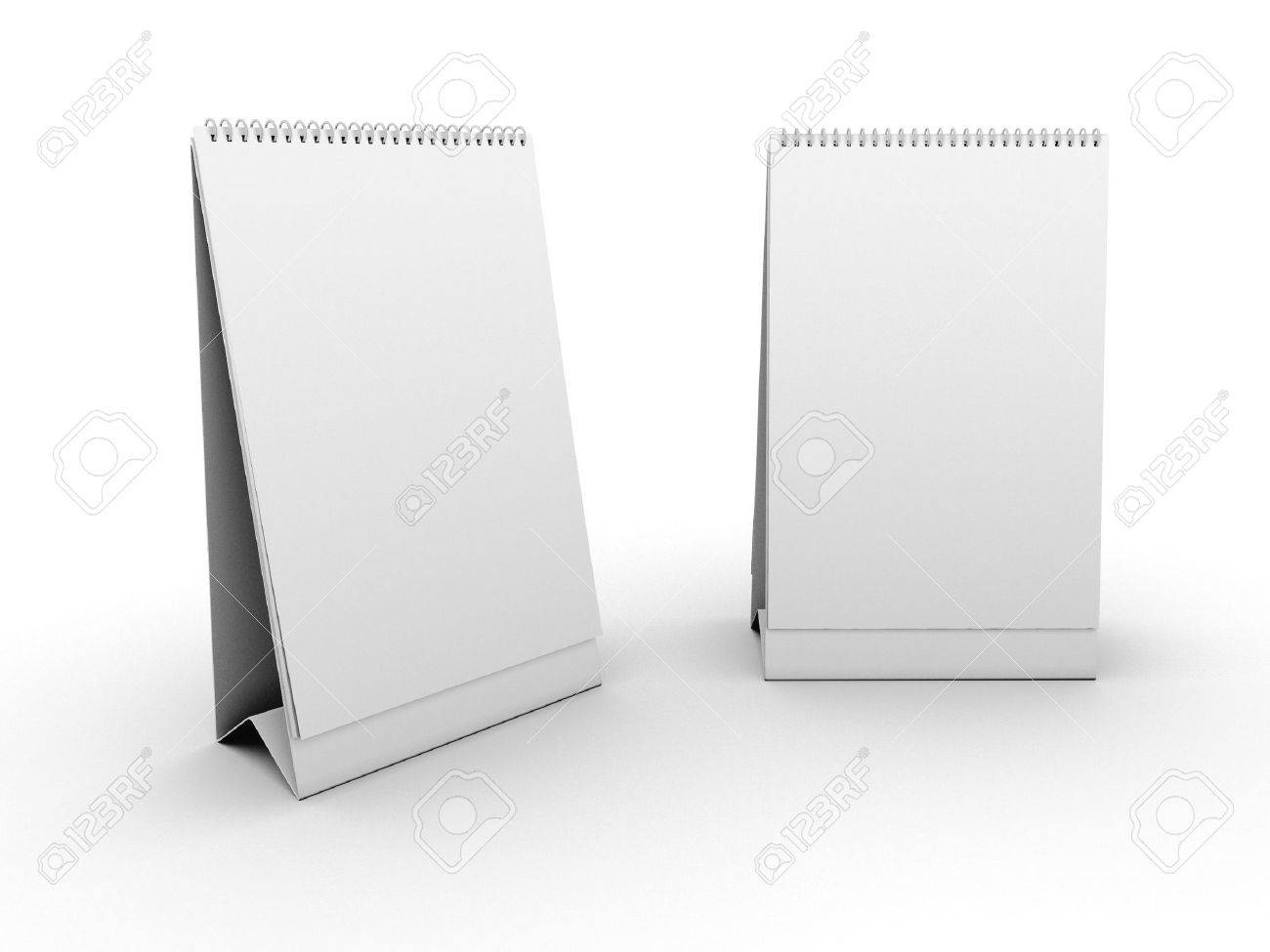 Empty table calendar template Standard-Bild - 5277104