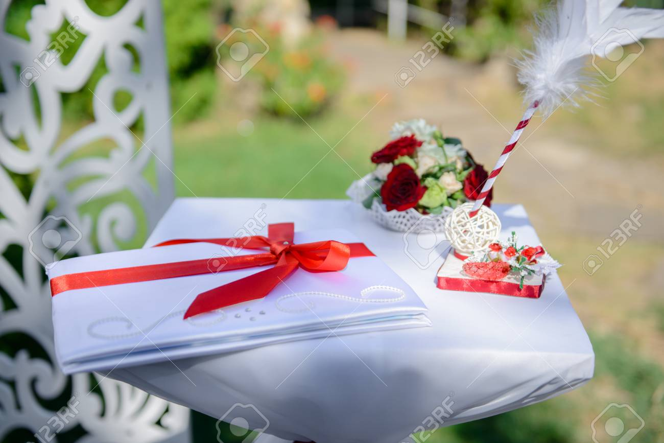 Wedding Decoration It Can Be Used As A Background Stock Photo