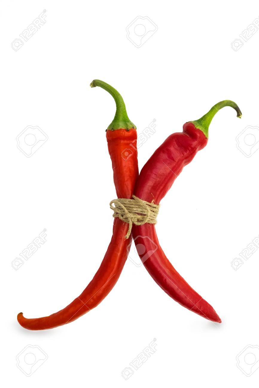 red hot chili peppers Standard-Bild - 23796771