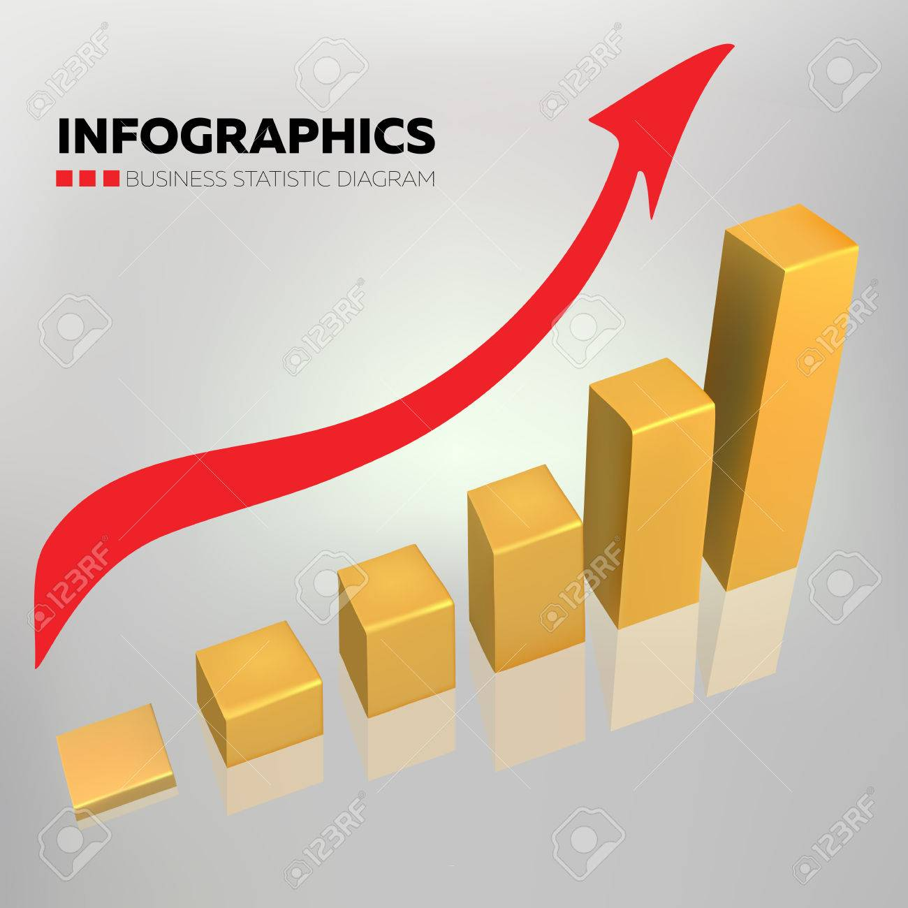 Business chart gold color vector design with red arrow on gradient business chart gold color vector design with red arrow on gradient background stock vector 48207076 nvjuhfo Image collections