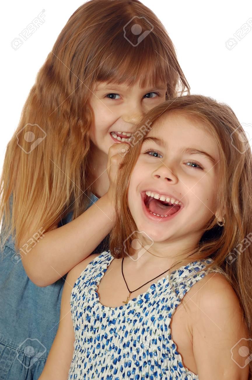 Two Playful Girls Stock Photo - 4283687