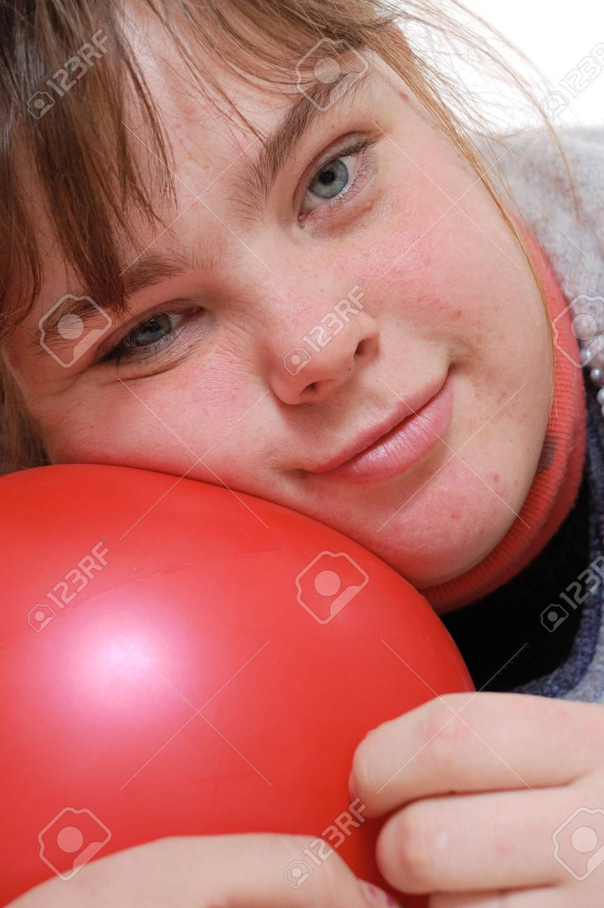 close-up portrait of a  19 years old girl Stock Photo - 6078427