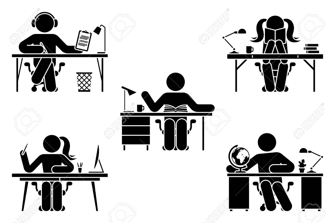 School Supplies Clip Art - Black and White - 60 Items for Commercial Use |  School supplies, School supplies diy binders, School supplies for teachers