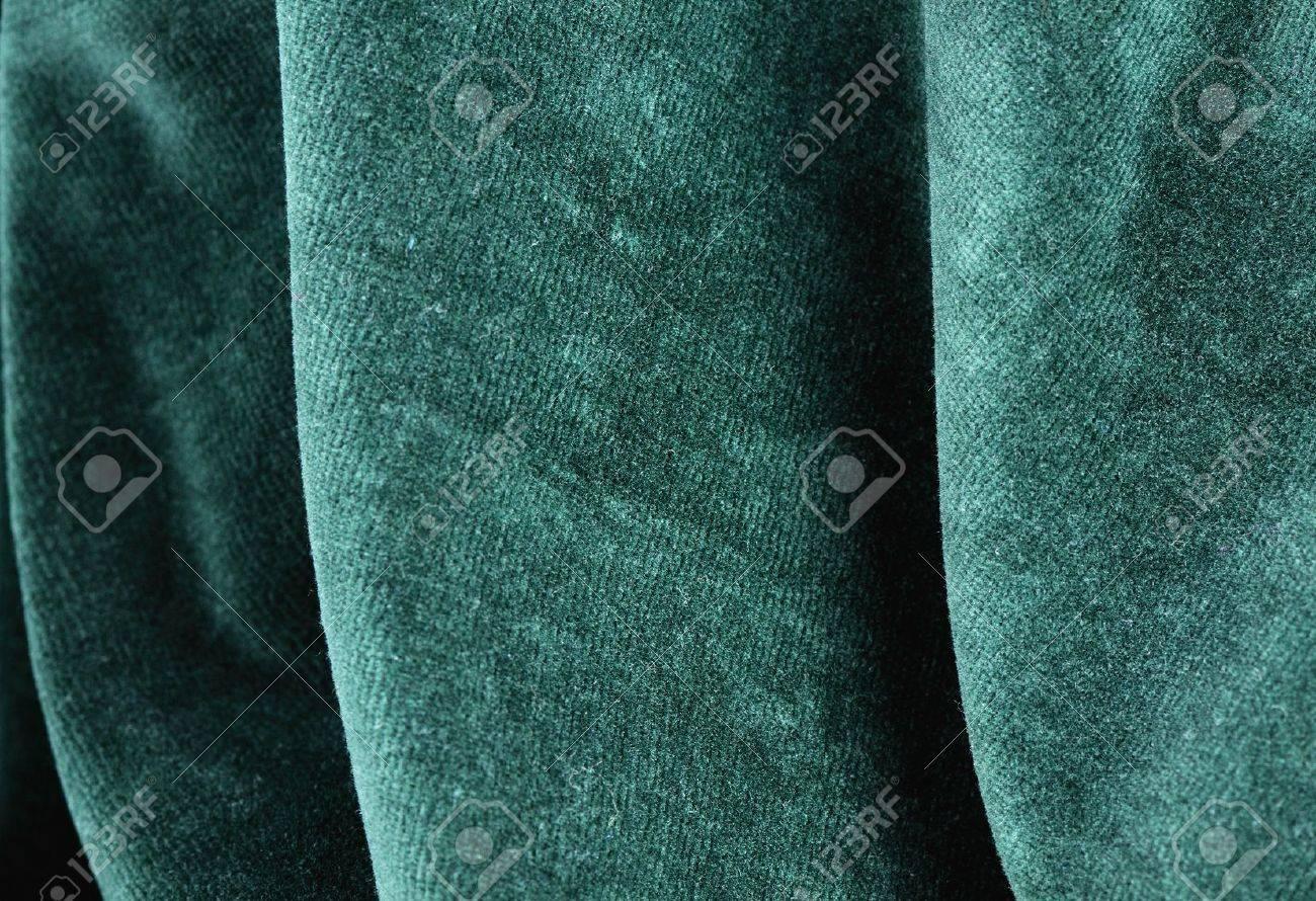 Green Velvet Fabric