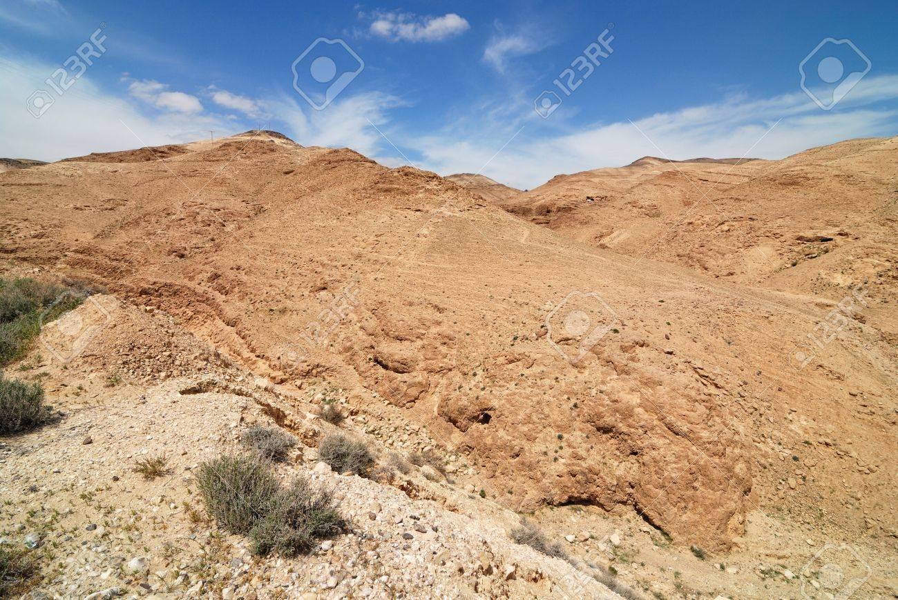 View of Judean desert landscape Stock Photo - 13179631