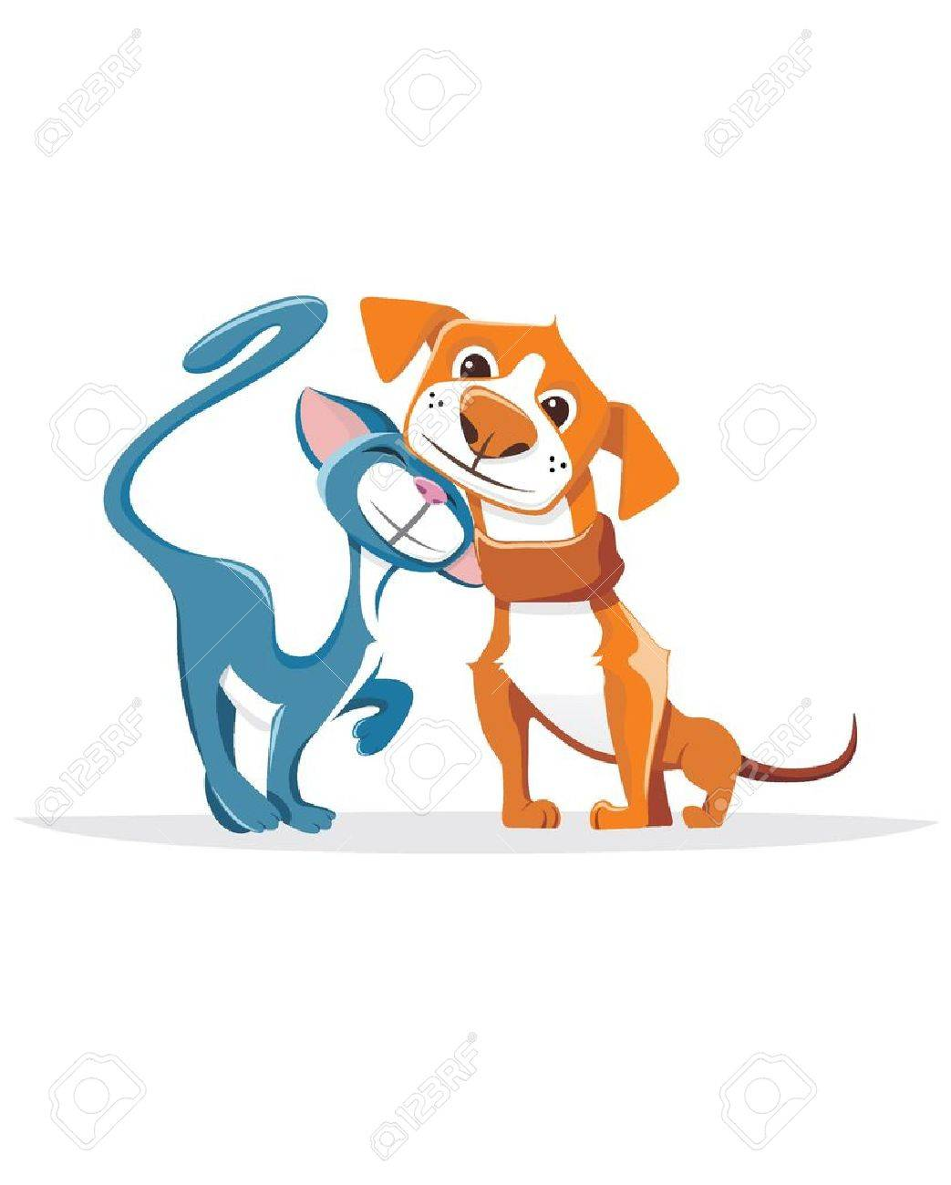 Cat and dog Stock Vector - 18655005