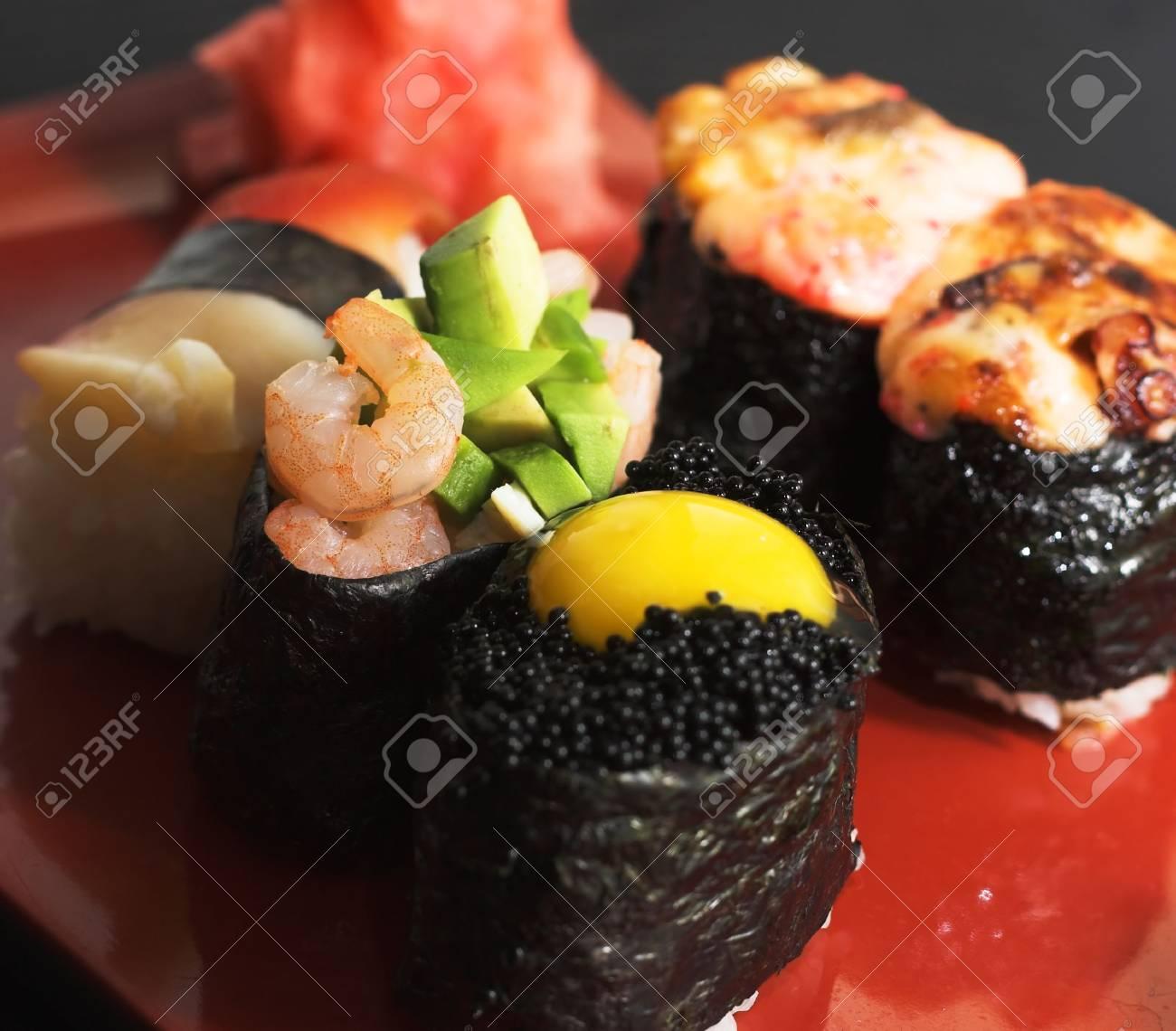 Assortment of Japanese Sushi - 2051517