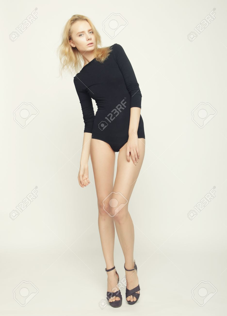 bf96f77bca3 beautiful fashion model woman with perfect slim body and long legs Stock  Photo - 38812965