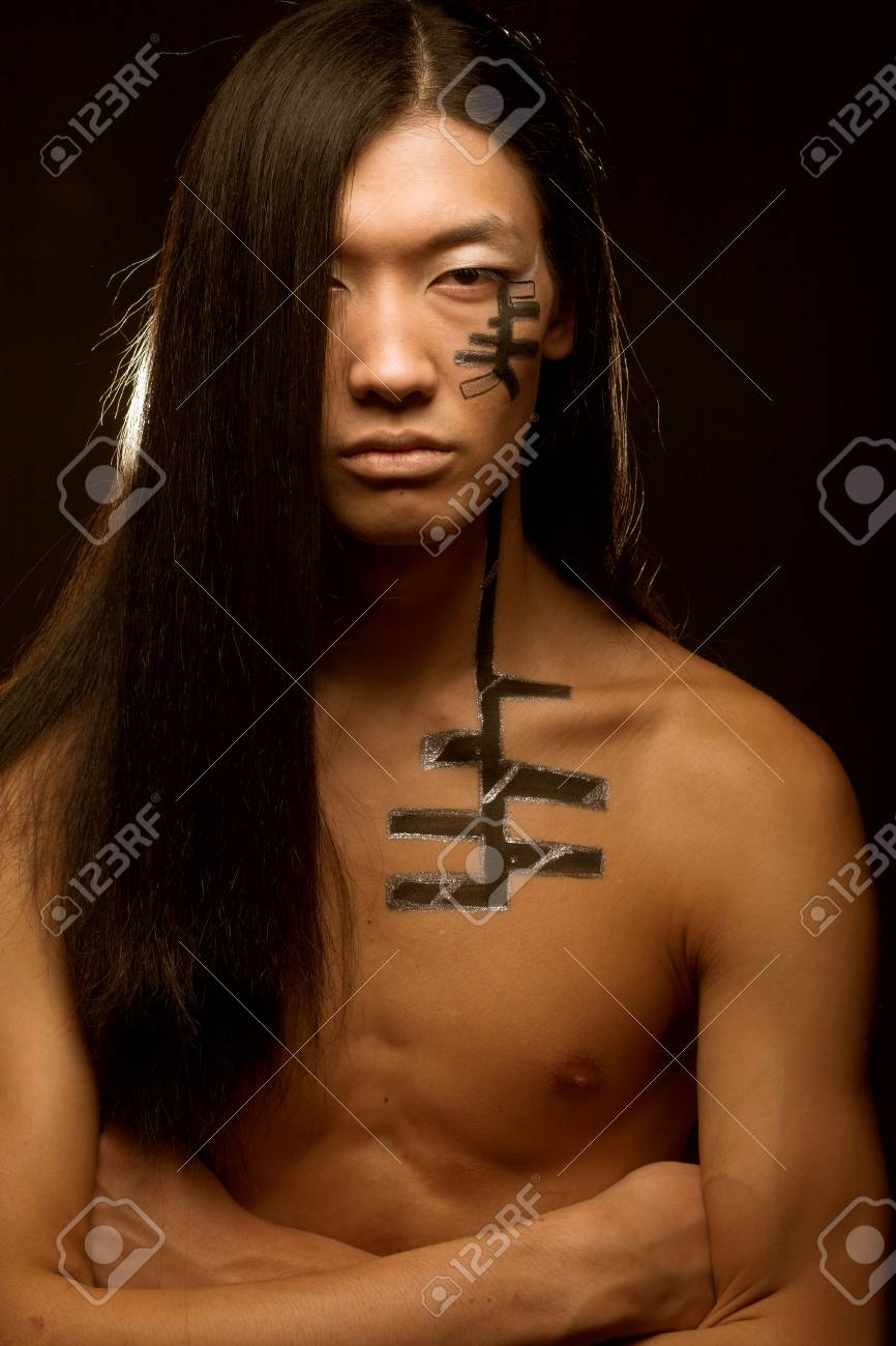 Asian Man With Long Hair Stock Photo Picture And Royalty Free Image Image 83418192