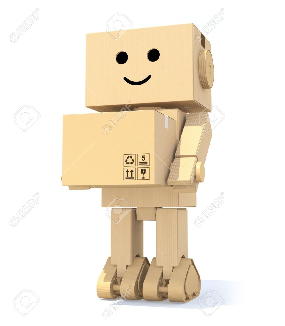 Cardboard robot plans