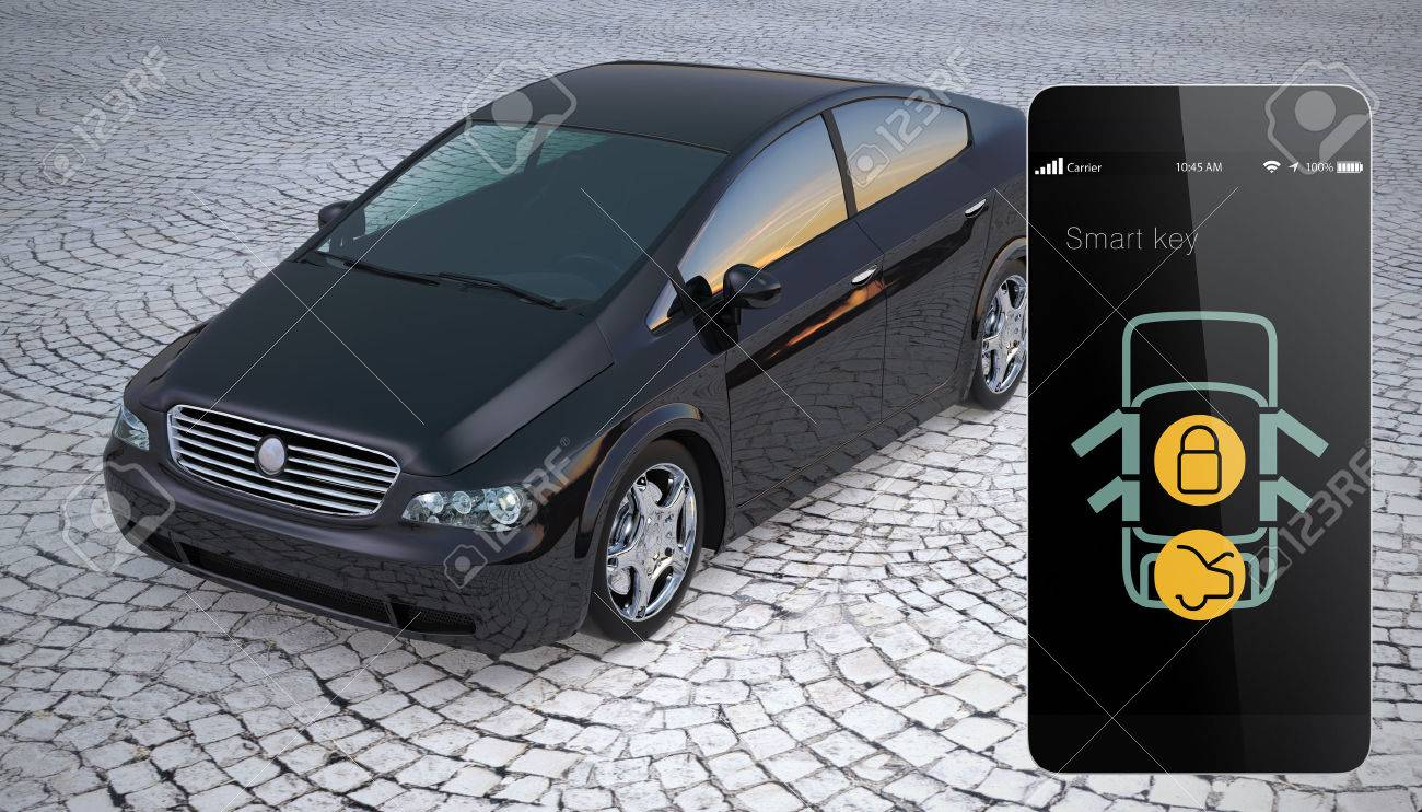 Unlock Car With Phone >> Car Door Lock And Unlock By Smart Phone