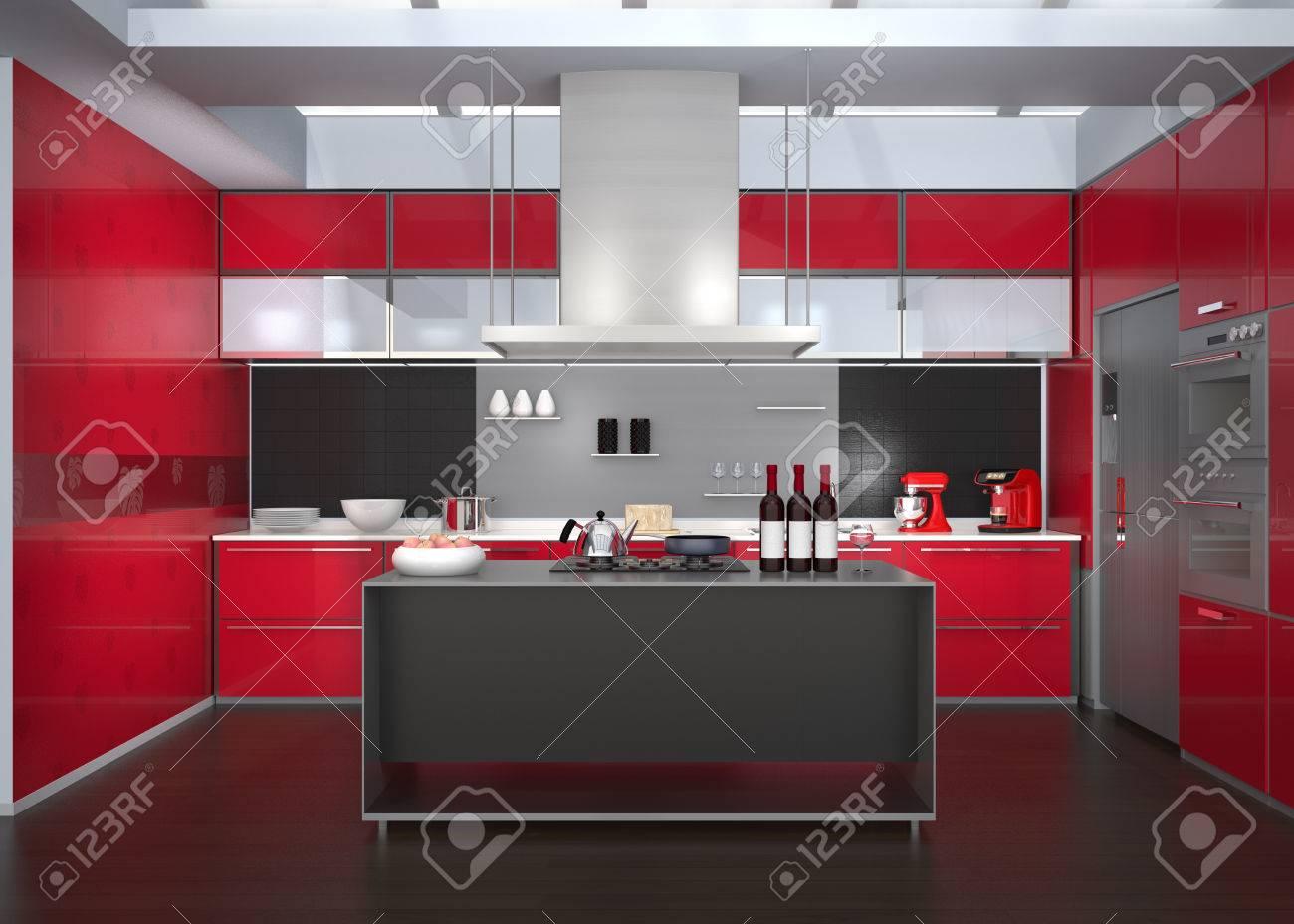 Berühmt Farben Für Küchenschränke Mit Schwarzen Geräten Galerie ...